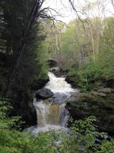 Doane's Falls, near Tully Lake Campground in Royalston. Kayak, learn to stand-up paddleboard, or go mountain biking, all in Trustees territory.